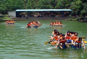 广州番禺历奇山庄拓展训练基地-水上项目设施
