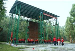 廣州番禺歷奇山莊拓展訓練基地-拓展訓練場地介紹