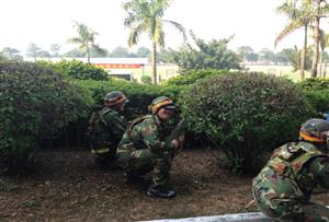 佛山南海國防教育拓展訓練基地-真人CS野戰