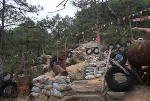 广州花都芙蓉野战漂流拓展训练基地-真人CS野战战场战区环境