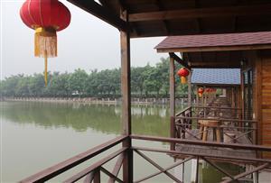 廣州南沙永樂農莊拓展訓練基地-南沙永樂農莊倚湖居豪華套房介紹