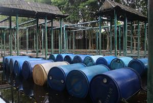 廣州黃埔金星農莊拓展訓練基地-水上拓展訓練設施介紹