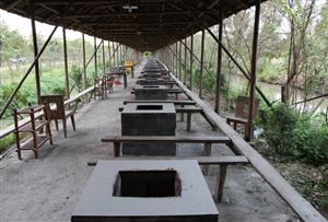 廣州番禺海傍水鄉野戰拓展訓練基地-野炊與燒烤設施介紹