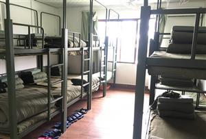廣州花都比奇軍事主題園拓展訓練基地-基地軍旅營房環境介紹