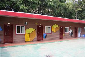 佛山南海大濕地拓展訓練基地-南海大濕地新概念營房8人間介紹