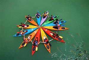 佛山南海大湿地拓展训练基地-南海大湿地皮划艇(独木舟)设施