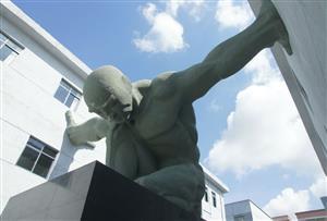 深圳坪山雕塑艺术创意园拓展训练基地_广东最具艺术创意气息的拓展训练基地