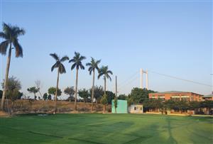 廣州番禺梓園生態園拓展訓練基地_一處常年享受海風的綠色生態園活動場所