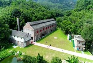广州花都工匠营地拓展训练基地_基于军工厂改造、景色优美的山林天然大氧吧拓展基地