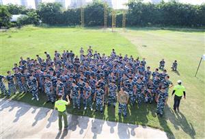 挑战自我,熔炼团队--广州市万科物业服务有限公司第二批拓展训练活动