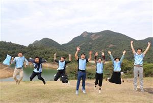 齊心協力、共創佳績、追求卓越共創輝煌-大亞灣第一中學高三年級教師拓展活動