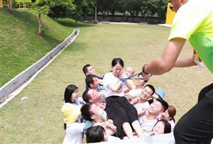 挑战自我,熔炼团队--星朔(广州)实业有限公司团队拓展活动