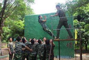 信任背摔_锻炼团队协作能力及团队信任感